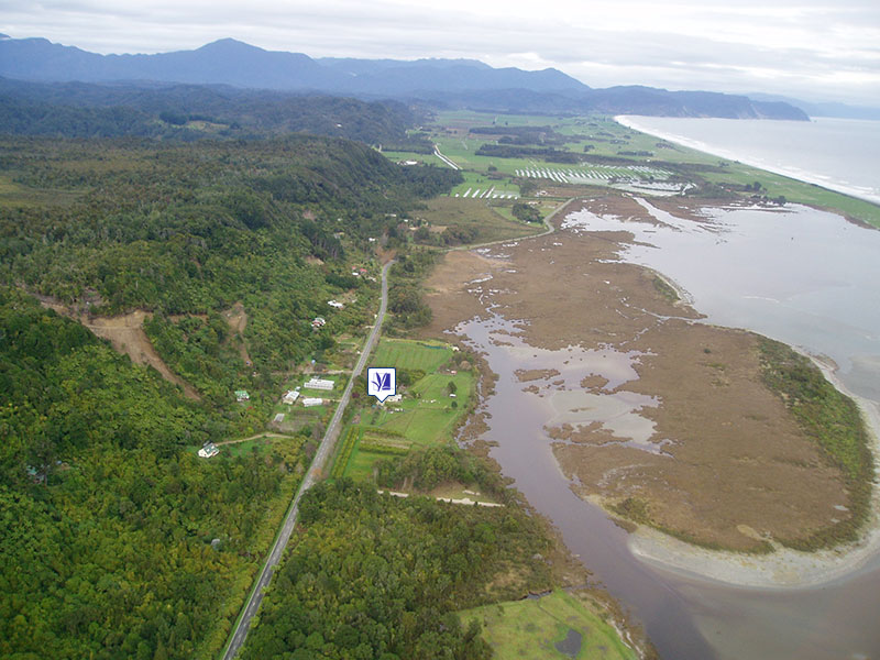 Aerial View of Otumahana Estuary