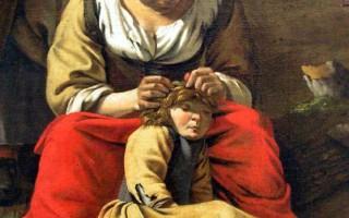 Checking Lice by Jan Siberechts 1662