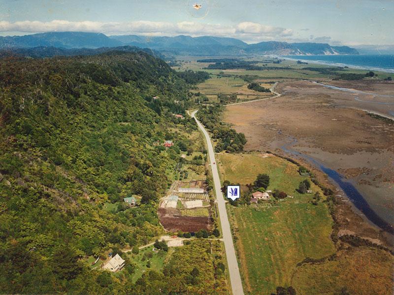 1993 Aerial View of Otumahana Estuary