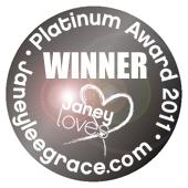 Janey Lee Grace Platinum Award 2011